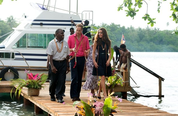Kate Middleton - Will and Kate Visit the Solomon Islands