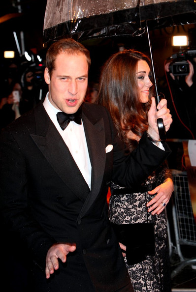 Will and Kate at the 'War Horse' Premiere
