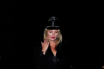 Kate Moss Celebs Spotted at LouLou's in Mayfair