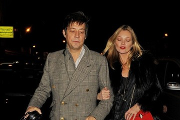 Kate Moss Kate Moss Enjoys a Late Night Out