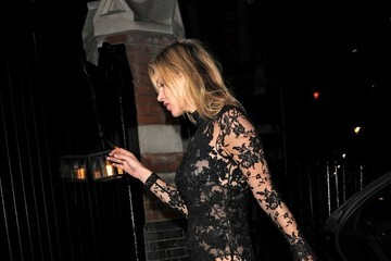 Kate Moss Alexander McQueen Savage Beauty Afterparty