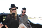 Kate Upton and Justin Verlander Are Seen at LAX