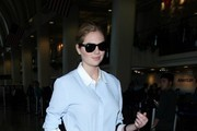 Kate Upton Arrives at LAX