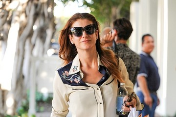 Kate Walsh Kate Walsh Takes a Stroll