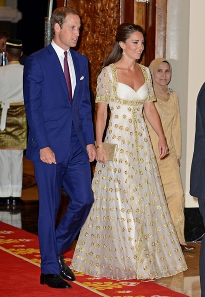 Will and Kate Dine in Malaysia