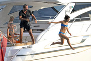 Celebrities Enjoying Yachts