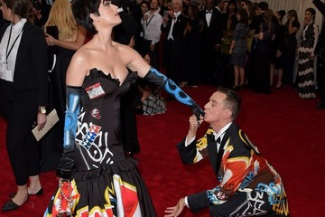 Katy Perry Jeremy Scott Met Gala 2015 - Arrivals
