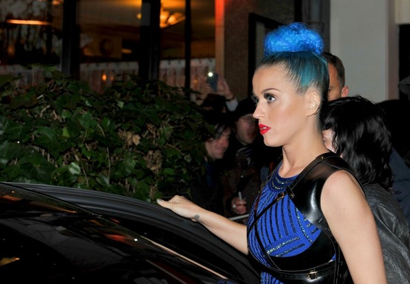 Katy Perry - Katy Perry and Baptiste Giabiconi make seperate exits