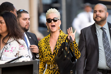 Katy Perry Katy Perry At 'Jimmy Kimmel Live'