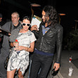 Katy and Russell at the movies