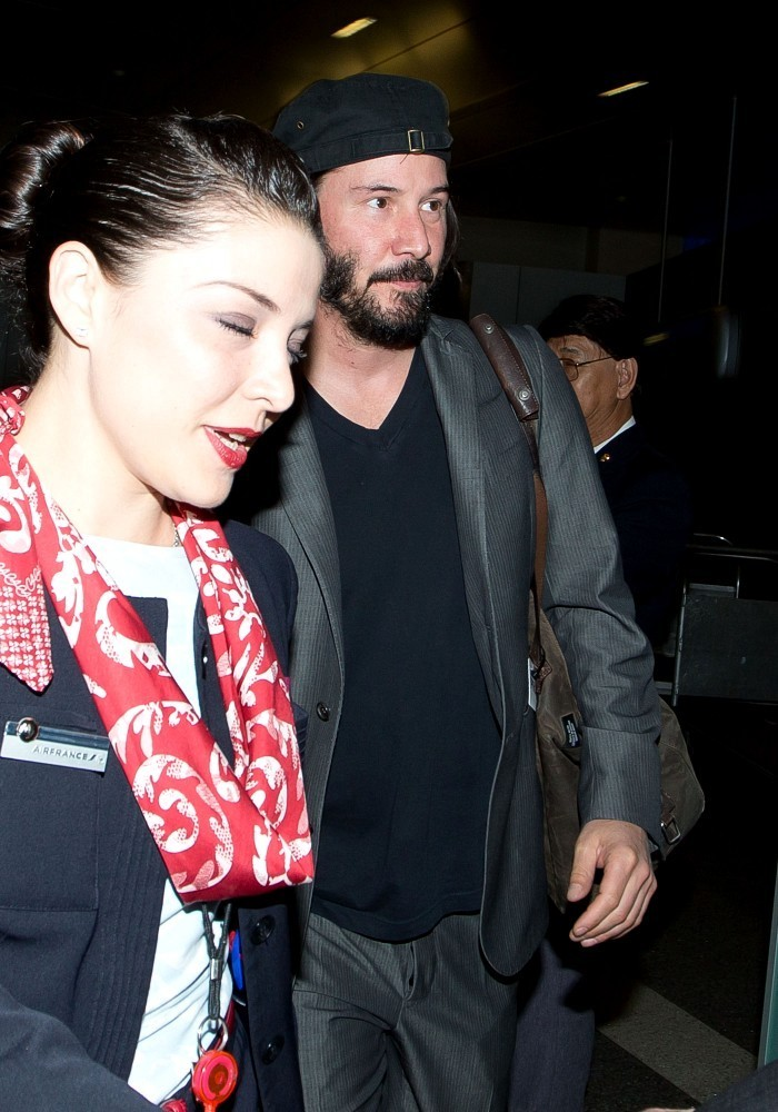 keanu reeves photos photos keanu reeves at lax zimbio
