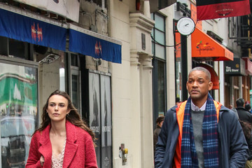 Keira Knightley Keira Knightley and Will Smith Collaborate for 'Collateral Beauty'