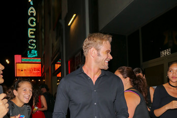 Kellan Lutz Stars Attend the Opening Night for 'Hamilton' Outside Pantages Theatre