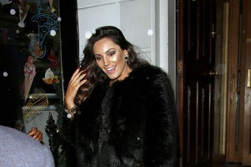 Kelly Brook Celebs Spotted at the Chiltern Firehouse