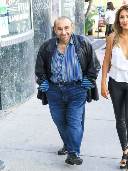 Ken Davitian Is Seen At The Hollywood Museum