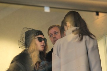 Kendall Jenner Cara Delevingne Spotted at LAX