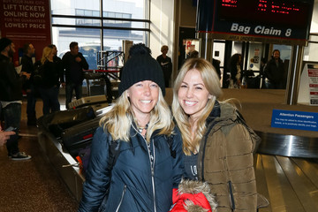 Kendra Wilkinson Celebrities at the Salt Lake City Airport