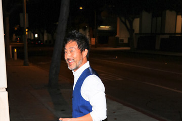 Kenneth Choi Kenneth Choi Outside The Laemmle Music Hall In Beverly Hills