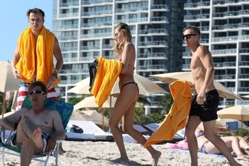 Kenny Wormald Kenny Wormald and His Girlfriend Hit the Beach