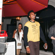 Keonna Green Nick Young Outside Craig's Restaurant In West Hollywood