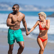 Kerry Rhodes Kerry Rhodes and Nicky Whelan at the Beach