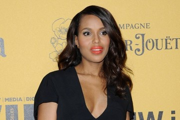 Kerry Washington Arrivals at the Woman in Film Crystal + Lucy Awards