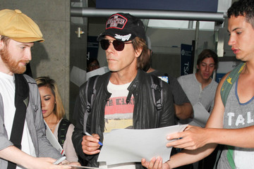 Kevin Bacon Kevin Bacon Seen at LAX