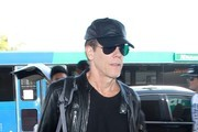 Kevin Bacon Arrives at LAX