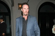 Kevin Dillon Is Seen Outside Craig's Restaurant In West Hollywood