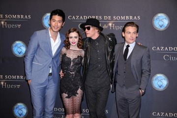 Kevin Zegers Lily Collins 'The Mortal Instruments' Mexico Premiere