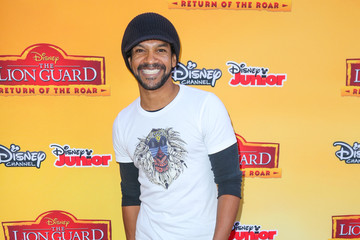 Khary Payton Celebrity Arrive at 'The Lion Guard: Return of the Roar'
