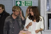 Kian Egan and Jodi Albert spotted at the ITV Studios.