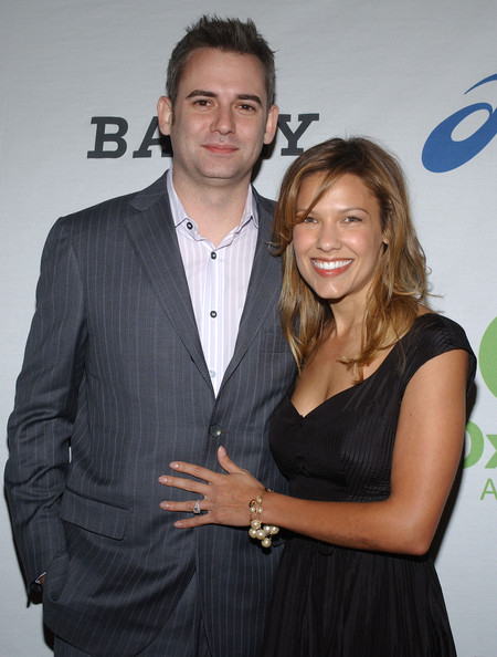 Kiele Sanchez with her first husband Zach Helm whom she divorce in 2008