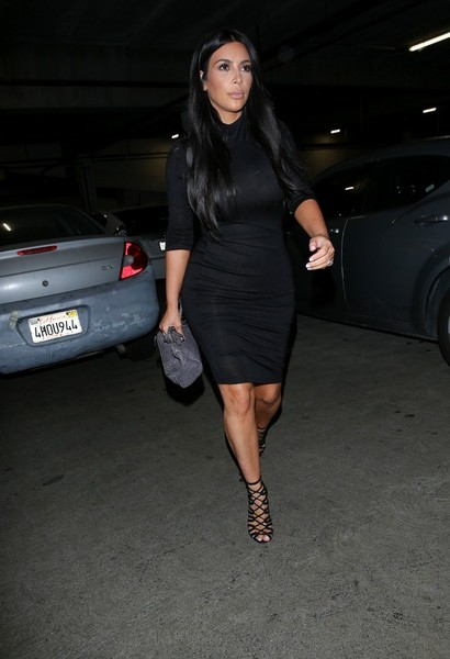KIm Kardashian Out in Beverly Hills