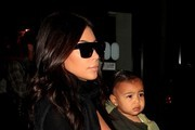 Kim Kardashian and Family at LAX
