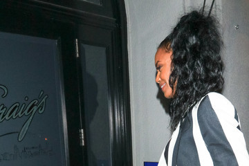 Kim Porter Kim Porter Outside Craig's Restaurant in West Hollywood