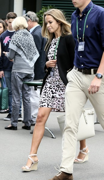 Kim+Sears+Kim+Sears+Arrives+Wimbledon+Gs