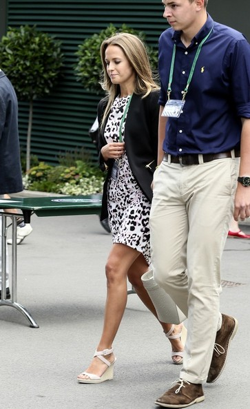 Kim+Sears+Kim+Sears+Arrives+Wimbledon+zA