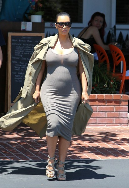 Kim Lunches At Fred Segal Zimbio
