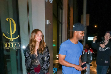 King Bach King Bach Is Seen At Catch Restaurant
