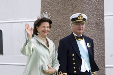 King Carl Gustaf XVI  Princess Madeleine Marries Christopher O'Neill