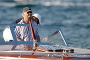 Carl XVI Gustaf, King of Sweden and Queen Silvia vacation on the French Riviera .