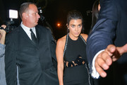Kourtney Kardashian at Craig's Restaurant 2