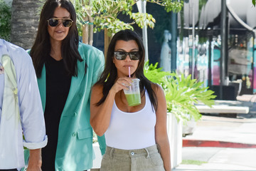 Kourtney Kardashian Kourtney Kardashian out and about