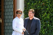 Kris Jenner and Dean Cain lunch date