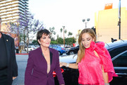 Kris Jenner and Faye Resnick are seen in Los Angeles, California on June 20, 2019.