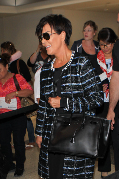 Kendall Jenner and Kris Jenner Are Seen at LAX []