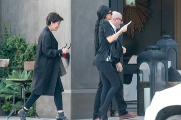 Kris Jenner Kylie Jenner and Kris Jenner Out and About
