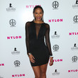 Krystal Harris NYLON Magazine Hosts Muses and Music Party