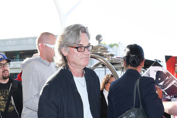 Kurt Russell Kurt Russell and Goldie Hawn Are Seen at LAX